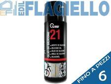 6 PEZZI VMD 21 olio di silicone bomboletta spray ml 400
