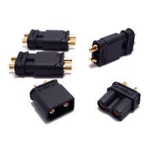 2/4/8 paires Connecteurs Prise XT30 XT30U Amass Noir Haute Qualité M/F RC FPV