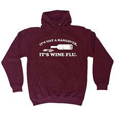 HANGOVER WINE FLU HOODIE hoody beer alcohol drinking booze tee funny gift 123t