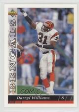 1993 Upper Deck #203 Darryl Williams Cincinnati Bengals Football Card