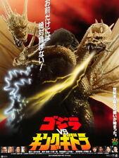 Godzilla vs. King Ghidorah 1954 Film Vintage HUGE GIANT PRINT POSTER