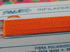 1infilaperle professionali arancione con ago in rame lun.180cm 9 n° a scelta