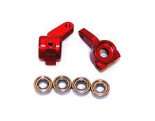 Red Aluminum Steering Knuckles for Traxxas Slash 2WD # ST3636R Rustler Stampede