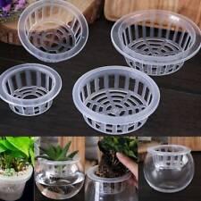 Plastic Mesh Pot Net Cloning Basket Hydroponic Aquarium Insert Plants Growth
