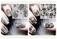 Nagelsticker Fingernägel Aufkleber Tattoo Nail Art Nageldesign Schmuck 8625-8626