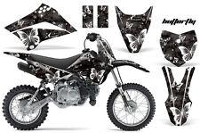 AMR RACING MOTOCROSS NUMBER PLATE GRAPHIC DECAL KIT KAWASAKI KLX 110 10-12 BFWK