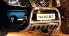 Frontschutzbügel Edelstahl für NISSAN NAVARA 2010 - mit ABE mit Unterfahrschutz