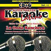 DAMAGED ARTWORK CD Onda Nortena: Super Master Karaoke Latino, Vol. 11: La Onda R