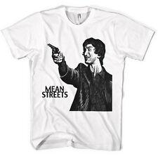 Strade malfamate Robert De Niro Harvey Keitel unisex maglietta tutti i colori e dimensioni