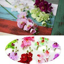 1pcs Cheap Silk Orchid Bouquet Party Decoration Cymbidium Artificial  Flower