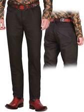 Men's Coated Jeans El General Limited Edition Color Brown