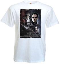 Matrix v2 T shirt white movie poster all sizes S-5XL