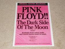 Pink Floyd Dark Side of the Moon Mfsl Ad, 1 pg, 1979, Frame It!
