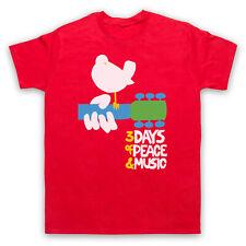 Woodstock Rock festival 3 jours de Paix & Musique Rétro Hommes Femmes Enfants T-Shirt
