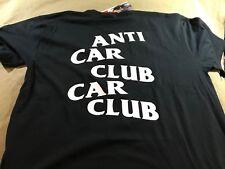 AUTHENTIC - JDM STYLE - ANTI CAR CLUB CAR CLUB T-SHIRT - the anti social hype
