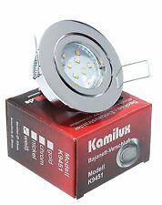 Deckenspots LED 5W=50W 230V Hochvolt Einbau 400 Lumen EEK A++ 5-15er SET BAJO