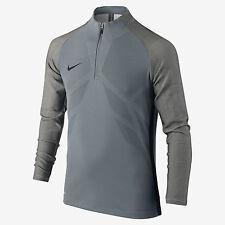 Nike Strike AeroSwift Big Kids' L/S Soccer Drill Top  842569 065 Grey Sz M L XL