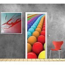 Pegatinas para puerta decoración Bolas Colores 9518