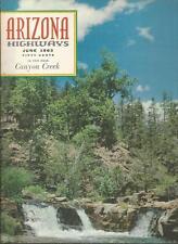 ARIZONA HIGHWAYS ~ June 1963 ~ Canyon Creek