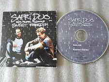 CD-SAFRI DUO-SWEET FREEDOM-Feat.Michael MC DONALD-CLUB-(CD SINGLE)-2002- 2 TRACK