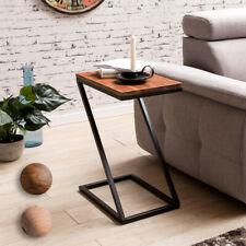 Table d'appoint Z-forme Bois massif / métal table basse maison de campagne