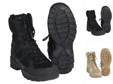 "Mil-Tec Stiefel ""Patrol"" One Zip Schuhe Wanderschuhe Lederstiefel Boots 39-46"