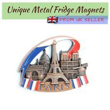 Metal Fridge Refrigerator Magnet Home Decor Holiday Souvenir Gift from Paris