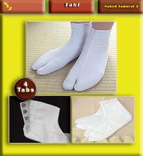 white Tabi socks for iaido iaito kendo ju-jitsu martial arts japanese sword art