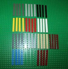 Lego 3460 Platte Bauplatte 4 Stck. Plättchen 1x8 viele Farben große Auswahl 16
