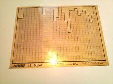 Microfich Fiat 131 Super 8a ED Microfilm Ersatzteilkatalog Ersatzteilekatalog