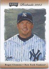 Roger Clemens Yankees 2003 Playoff Portraits Bat /50