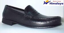 Zapato mocasín piel Himalaya color negro o marrón tallas 39 a 46
