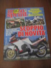 MOTOSPRINT 1985/47 HONDA MTX 125 R GILERA 200 RV