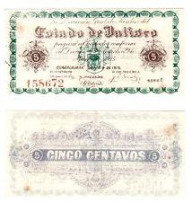 Mexico 5 Cents Direccion Gral de Rentas Estado de Jalisco, S-857, M2330