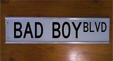 BAD BOY BLVD STREET SIGN ROAD BAR SIGN - MAN- CHRISTMAS GIFT