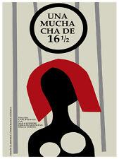 Una muchacha de 16 1/2 movie Decoration Poster.Graphic Art Interior design 3558