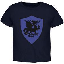 Halloween Knight Shield Costume Dragon Toddler T Shirt