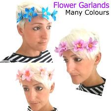 Fleur Guirlande tête front Bande Tissu Floral Fashion Cheveux Accessoire Femme Summer
