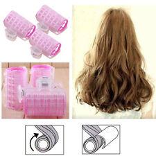 3 Pcs Pink Hairdress Magic Hair Styling Roller Curler Spiral Curls DIY Tools