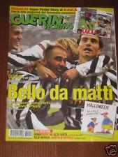 GUERIN SPORTIVO 2003/44 POSTER KAKA' AREZZO JUNINHO @