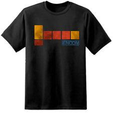 Mens Encom Tron Movie T Shirt (S - 3XL) Vintage Old Skool Retro Flynns Arcade
