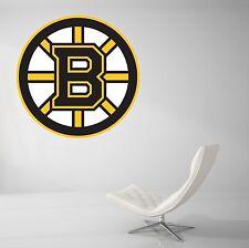 Boston Brunis NHL Wall Decal Vinyl Decor Living  Room Sticker Hockey Art J100