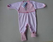 SCHIESSER Baby Schlafanzug HASE MIMI 62 68 74 80 86 92 100% BW Strampler NEU