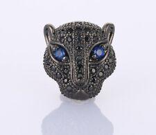 Leopard Panther Cheetah Charm Beads Bracelet DIY Jewelry Making Bead Animal