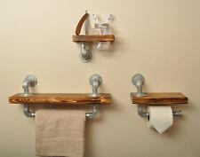 Stile industriale scaffale da bagno Set 20% IVA inc. Kilner BARATTOLO VINTAGE CON TUBO