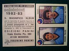 CALCIATORI 1982-83 82-1983 n 430 COMO PALESE MATTEOLI Figurina Panini (NEW)