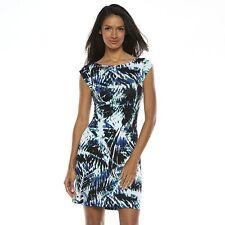 NEW Apt. 9 Print T-Shirt Dress -Women's (Sz-M,L)-New with Tag + Free Shipping