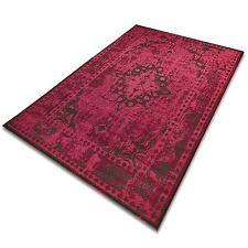 Vintage Teppich   viele Größen   im angesagten Shabby Chic Look Pink