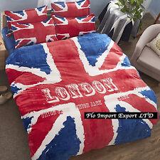 Couverture Duvet Drap Taies d'oreiller UK Flag Batteries Housse de couette Duvet