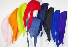 skull cap hat do du doo rag many colors sweat band USA made